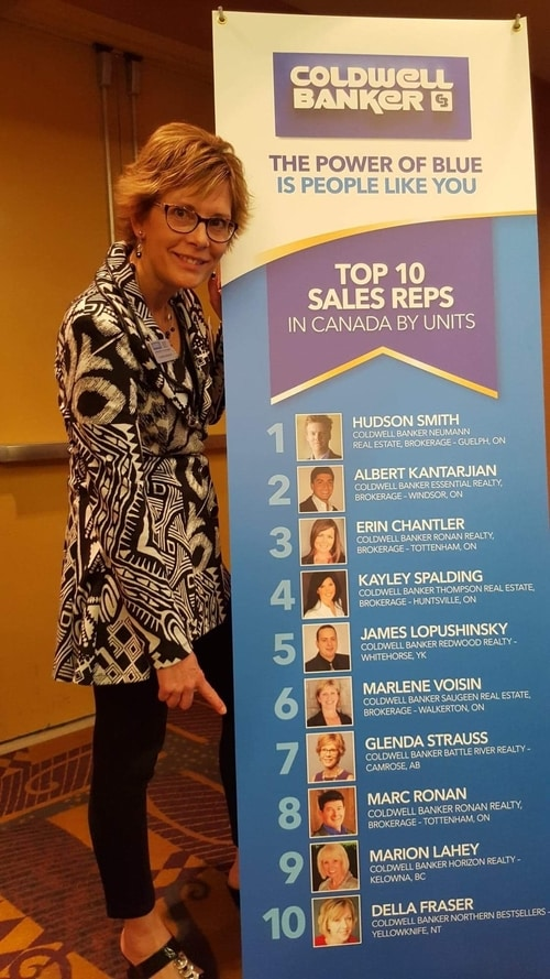 Glenda Strauss - Top 10 Canadian Realtor